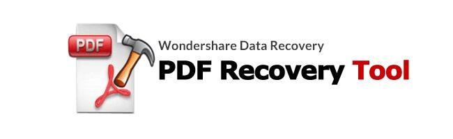 recover lost pdf files