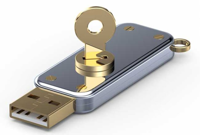 flash drive di sicurezza