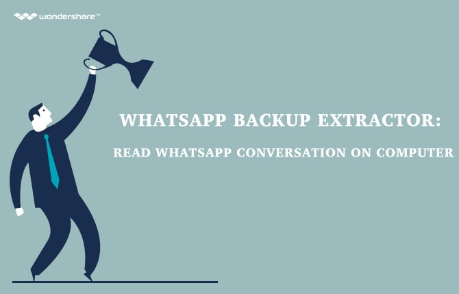WhatsApp Backup Extractor: Read WhatsApp Conversations on your Computer