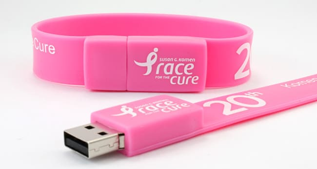 braccialetto usb flash drive
