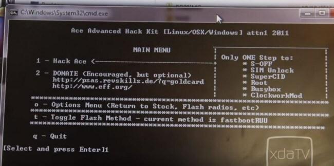 Sigue la guia para Rootear HTC Desire HD