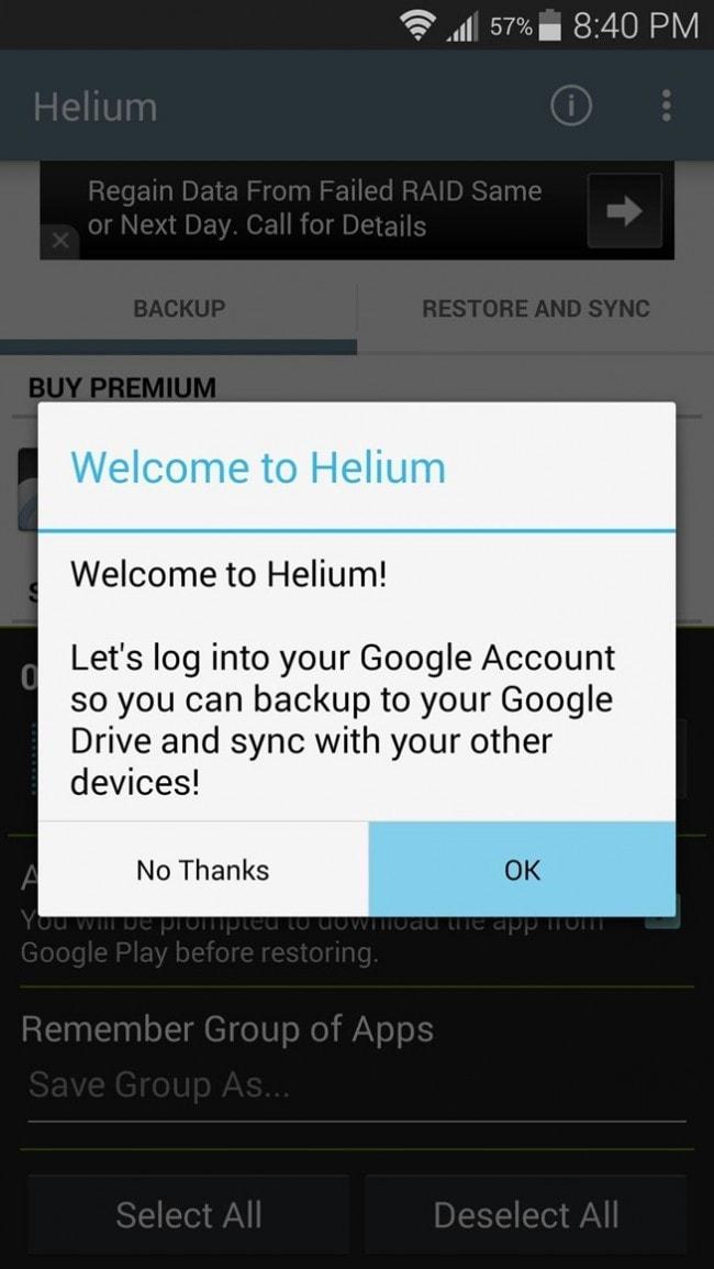 helium backuo game data