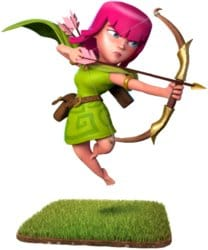 archer in clash of clans