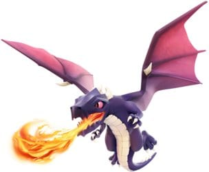 dragon in clash of clans