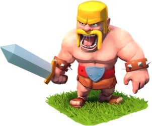 Barbarian in Clash of Clans