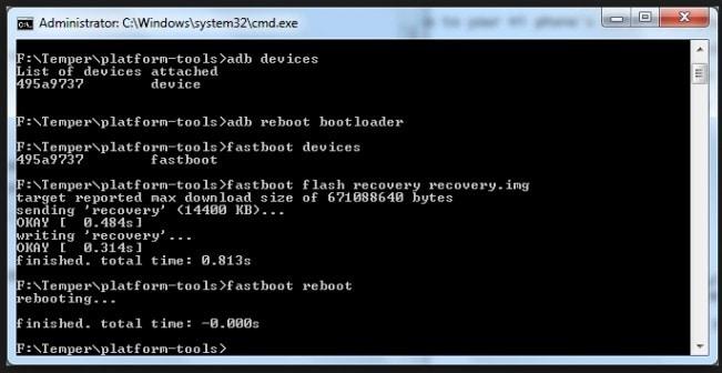 root Huawei U8665 step 5
