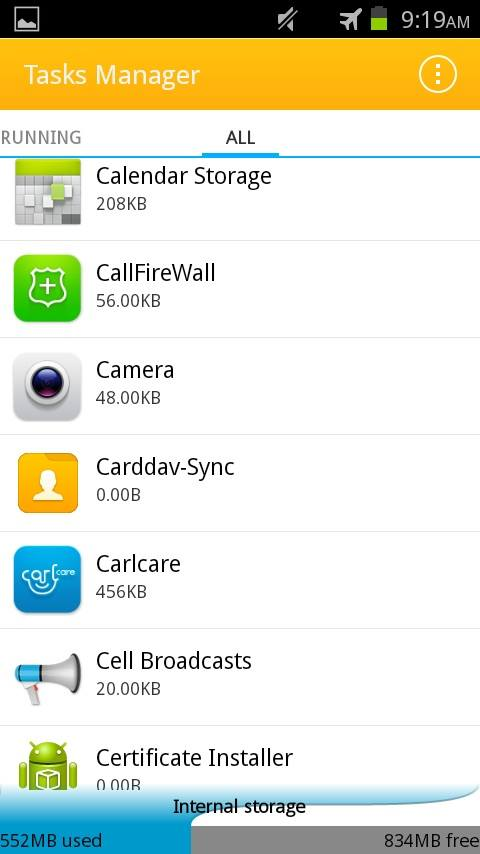 deleted auto photos on android phone step 7