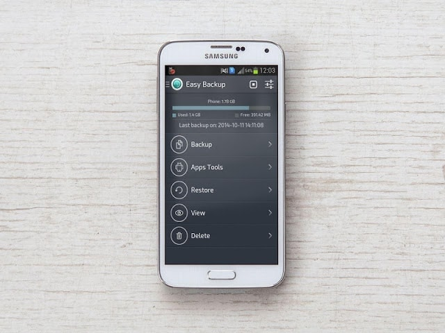 easy backup and resore for android phone