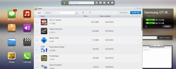 AirDroid backup android phone on mac step 4