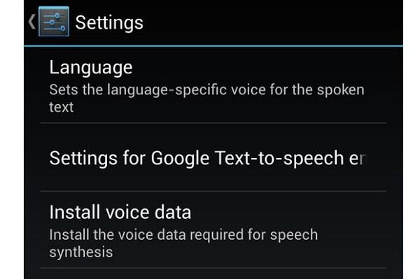 Google Texte en Parole