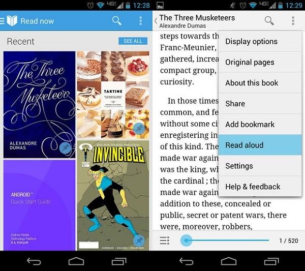 Android Texte en Parole