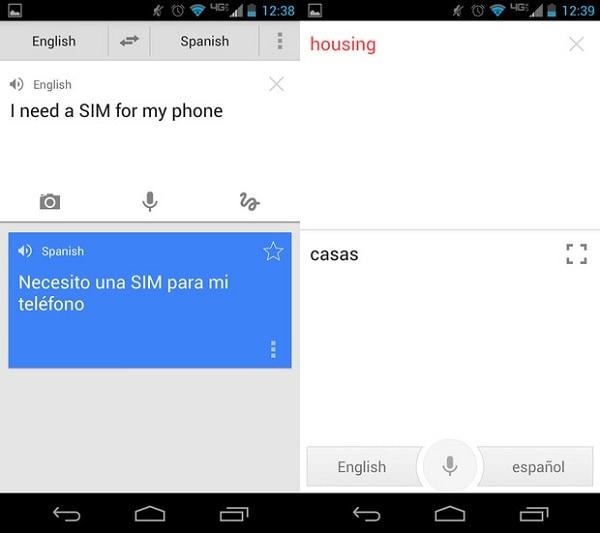 Utiliser Android Texte en Parole