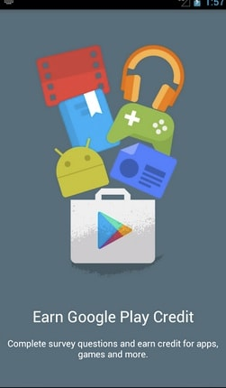 Get Free Google Play Credit using Google Opinion Rewards
