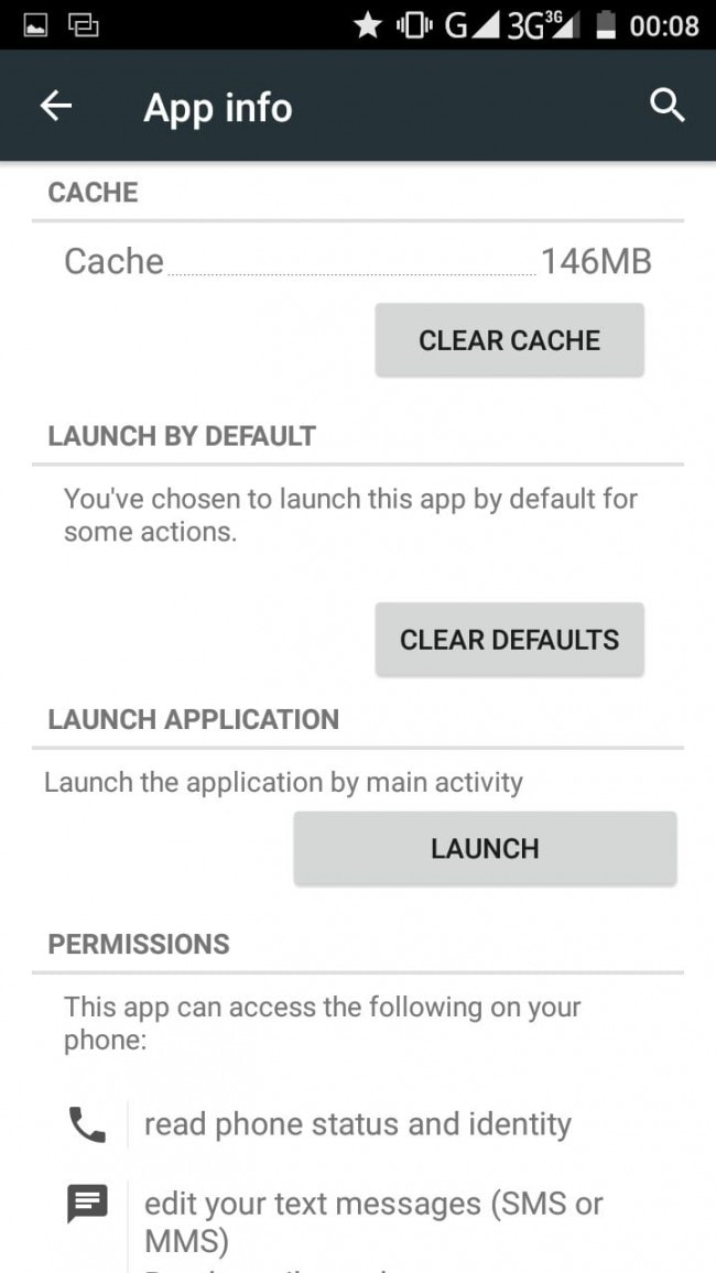 Change Android Default Application