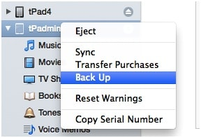 iPhone Says Connect to iTunes - Back up iPhone