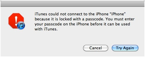 iPhone Says Connect to iTunes - iPhone is Locked