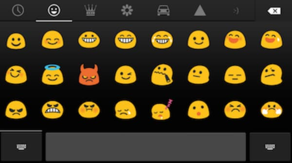 android emoticons list