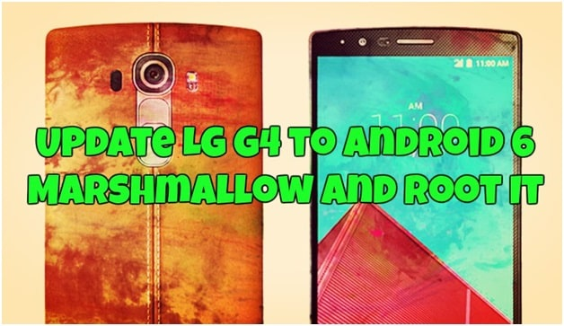 update LG android 6.0