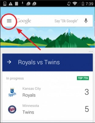 add cards to google now