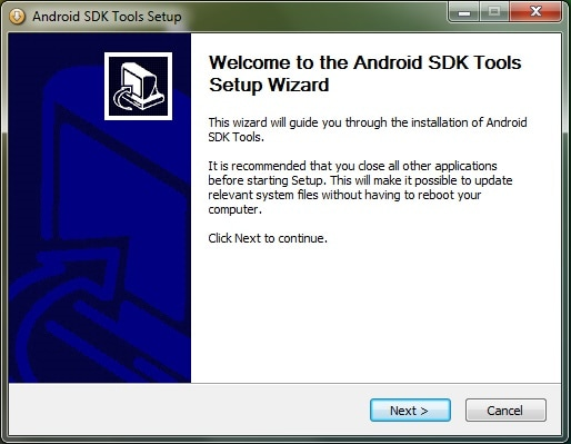 install android 6.0 sdk on windows step 2