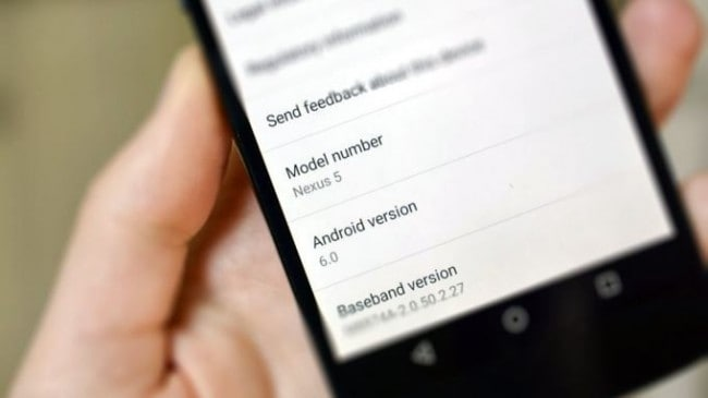 update android 6.0 on Nexus devices step 2