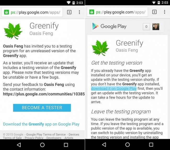 improve android 6.0 battery life with greenify step 1