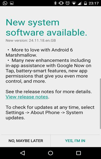how to update android software manually