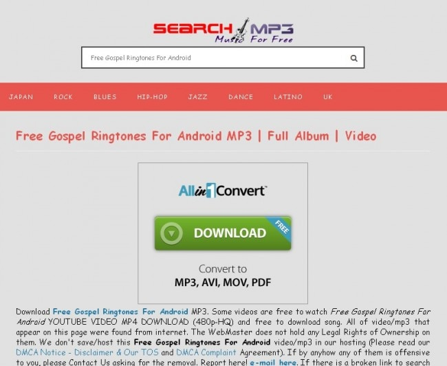 website to download gospel music for free