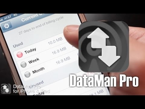 how to check data plan usage on iphone