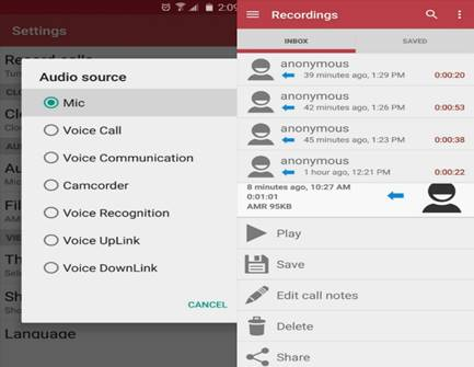 Record Phone Calls on Android-Automatic Call Recorder by Appliqato