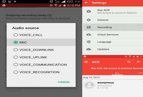 Record Phone Calls on Android-Call Recorder ACR