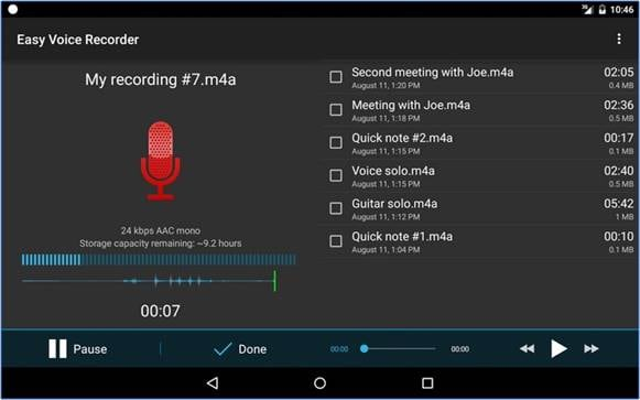 Top 10 Call Recorder for Android-Easy Voice Recorder