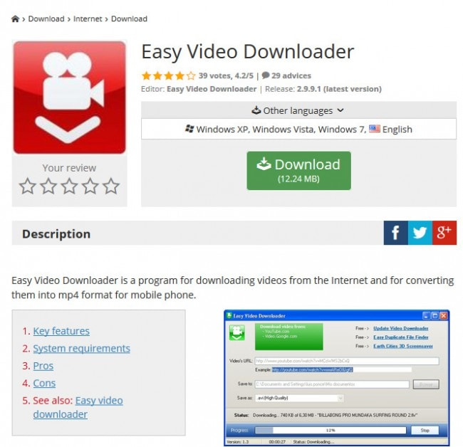 download video from browser plugin