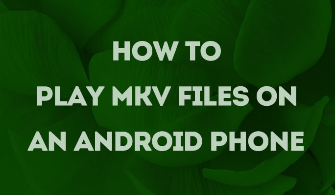 How to Play MKV files on an Android Phone
