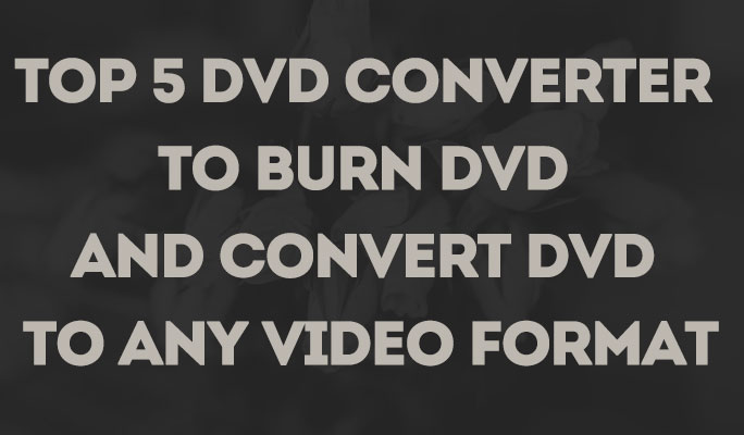 Top 5 DVD Converter to Burn DVD and Convert DVD to any Video Format