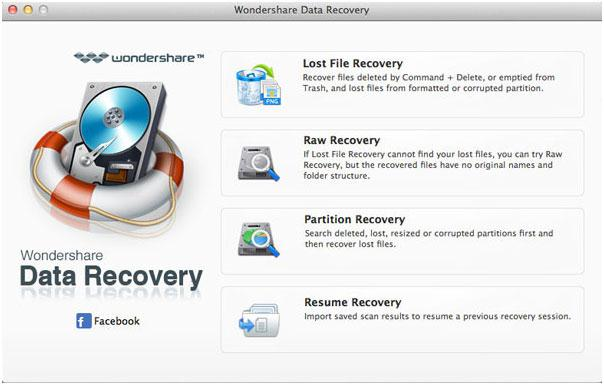 recuperare i file da flash drive su Mac