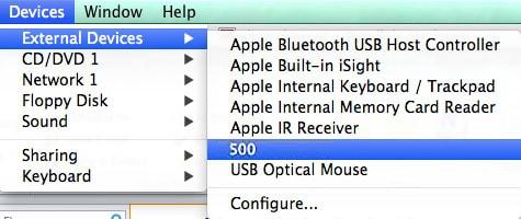 clé usb non reconnue Mac