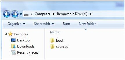 restore Windows 7 com usb recovery Drive