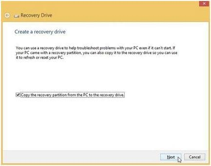 recuperar Windows 8 com usb recovery Drive