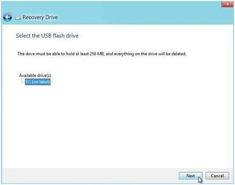 Como restaurar sistema Windows com usb recovery Drive