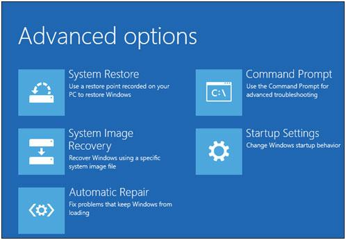 restore Windows with a usb recovery Drive