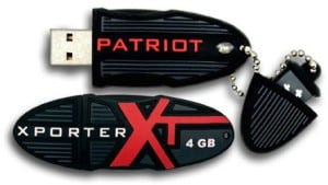 Recupero Patriot Xporter drive flash