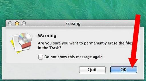 effacez vos fichiers sur Mac