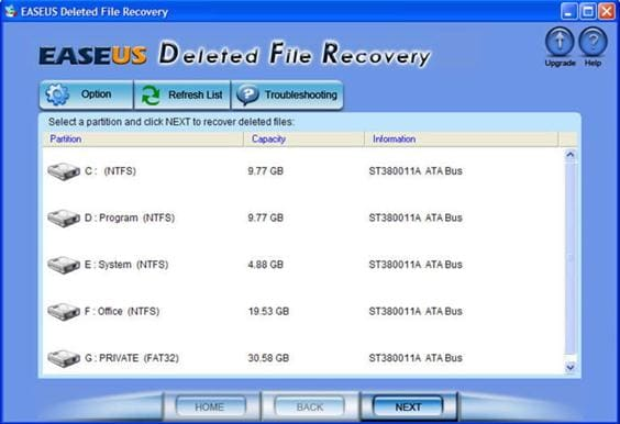 1. Free download file recovery software to recover my lost files