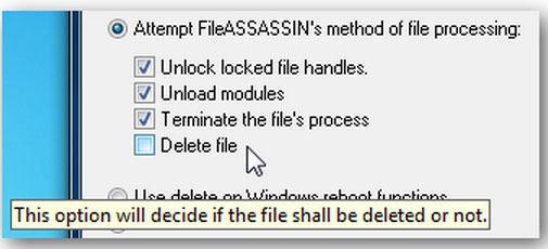 fichiers indépendants