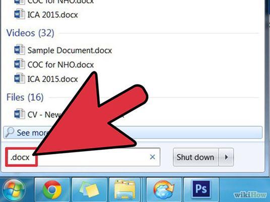 Hoe herstel je een verwijderd Word-bestand