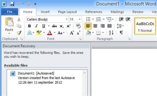 5 Ways to Recover Deleted Word Documents