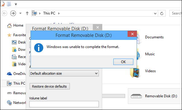 How To Recover Data After Usb Format Error