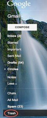 كيفية استرداد رسائل البريد الإلكتروني المحذوفة