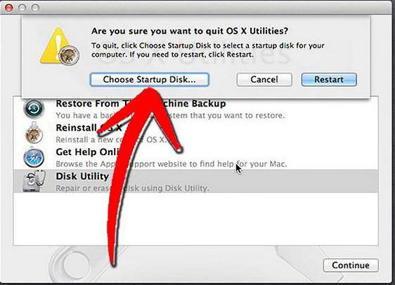 repair hard disk with disk utility step 4